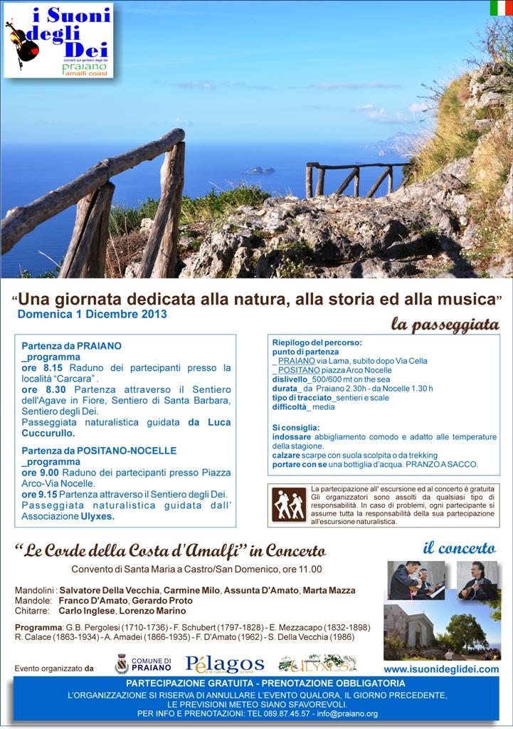 Locandina - SPECIALE I SUONI DEGLI DEI 1 dic 2013
